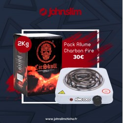 Pack Allume charbon Fire