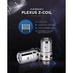 Pack de 5 résistances Plexus MTL 0.5ohm Innokin