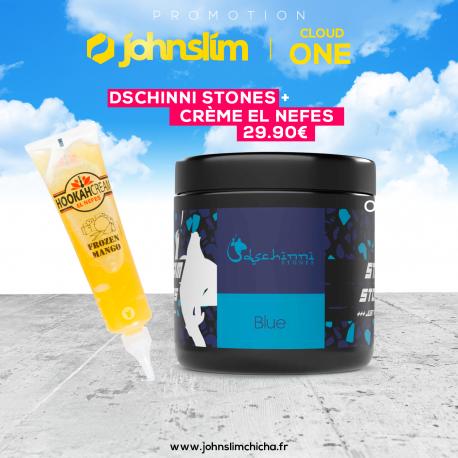 Pack Dischinni stones + Hookah Creme