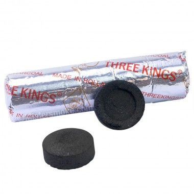 "Rouleaux charbon auto allumant ""Three Kings"""
